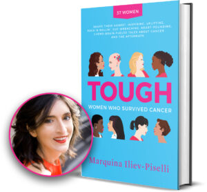 Marquina and her book Tough